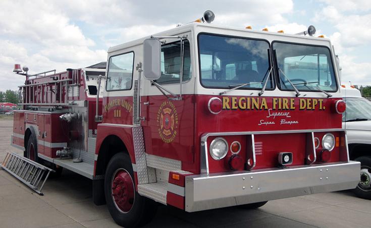 REGINA FIRE TRUCK