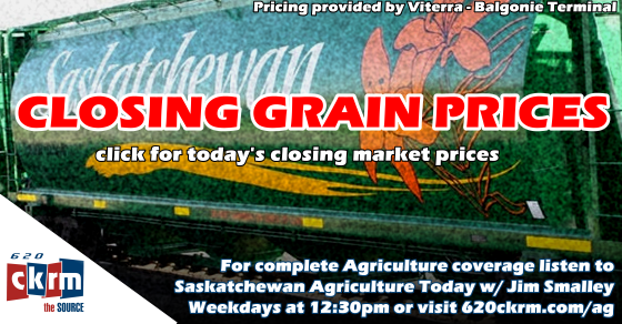 Closing Grain Prices