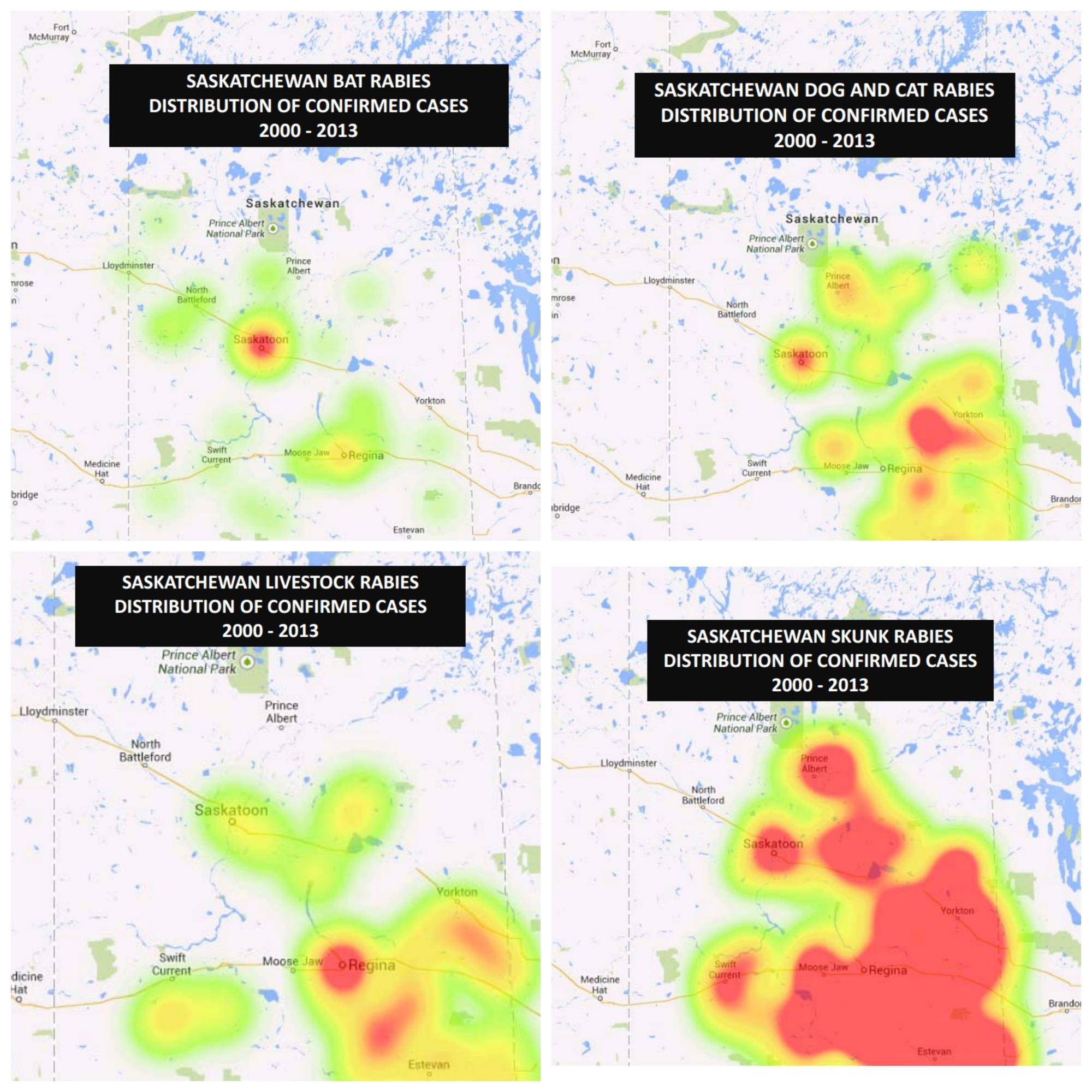 RABIES MAPS