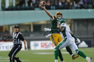 Edmonton Eskimo's Vs Saskatchewan Roughriders