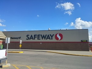 Safeway store at Regina's Victoria Square Shopping Center