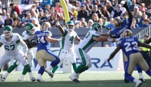 CFL BOMBERS ROUGHRIDERS