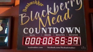 The countdown is on for the famous Saskatchewan Blackberry Mead. (Bushwakker Brewing Company Facebook Page)