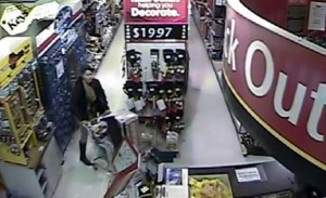 Suspect #2 caught on camera. (Humboldt Home Hardware)